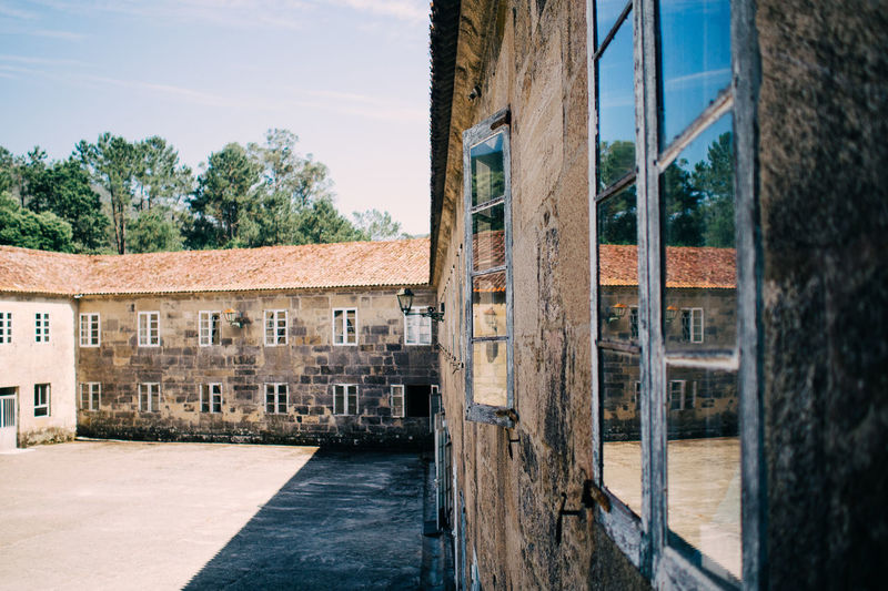 Convento Padres Franciscanos Architecture Building Exterior Built Structure Convent Exterior Hikinggalicia Historic Monastery No People Outdoors Sky