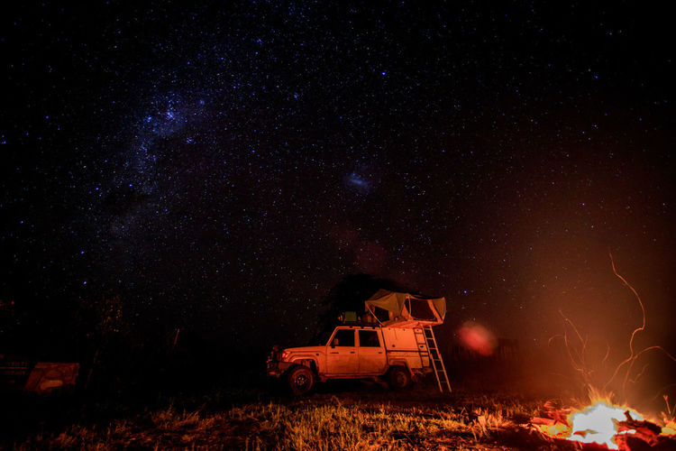 Long exposure shot of the stars and a camp fire while camping in Hwange National Park, Zimbabwe. Campfire Camping Galaxy Landcruiser  Nature Nature Photography Nightphotography Adventure Africa Astronomy Beauty In Nature Campinglife Long Exposure Night Photography Milkyway Night Outdoors Safari Scenics - Nature Sky Space And Astronomy Star Star - Space Stars Tent Toyota Landcruiser The Traveler - 2018 EyeEm Awards