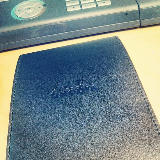 Telefonhilfe Rhodia NotePad