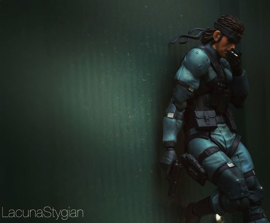 Toyphotography Photography Solid Snake Metal Gear Metal Gear Solid MGS Figma Mgs2