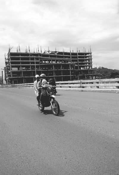 Cagayan De Oro City CDO Architecture Blackandwhite Photography Hanging Out Instapic Captured Moment Eyeem Philippines Street Photography The Photojournalist - 2015 EyeEm Awards Investing In Quality Of Life