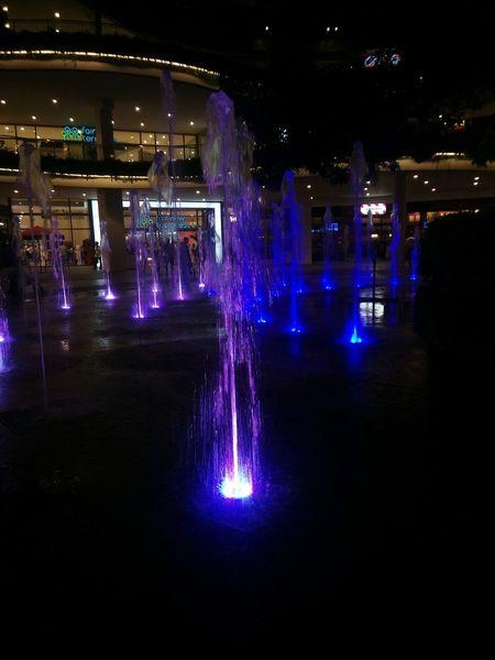 Contrast and hue Fountains Fountain Lights Experia Light Randomshot Rainbowlights Perfection Water Reflections Light And Shadow Hues Perspective EyeEm Best Shots Getty & Eyeem EyeEm Gallery Beginnerphotographer