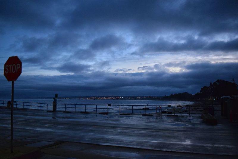 Monterey Ca I Live Where U Vacation Fishermanswharf Stormy Weather