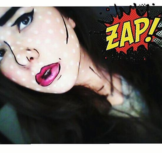 Makeup Comic Style Zap