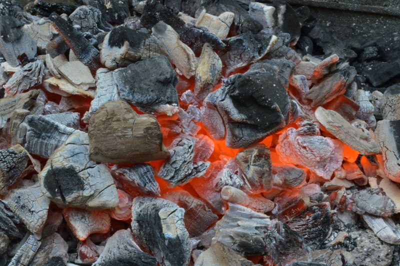 Burning Close-up Detail Ember Fire Glowing Heat Heat - Temperature No People
