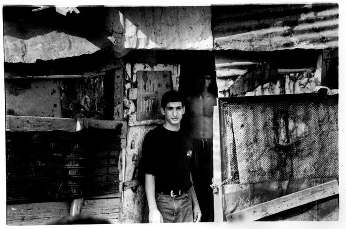 Sabra and Shatila refugee camp, Beirut, Lebanon, 2001. Ilford HP5 film. Nikon FM2 camera Film Photography Blackandwhite Ilford HP5 Plus Steve Merrick News Photgraphy Photojournalism Stevesevilempire Lebanon Humanity...  Palestinian Refugees Sabra And Shatila SABRA Beirut Lebanon Beirut Sabra And Shatila