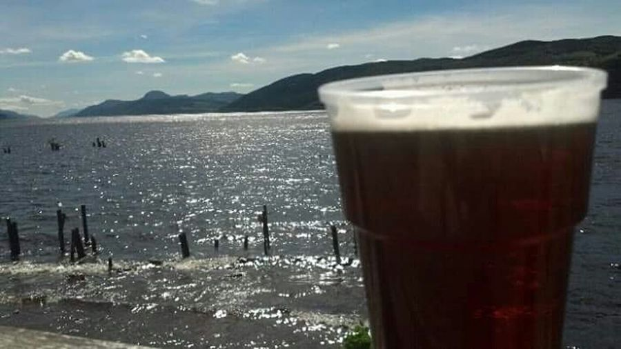 Loch Ness Beer Scottish Highlands Lovelife Nature_collection Skyline Shoreline Mystery Folklore Myth