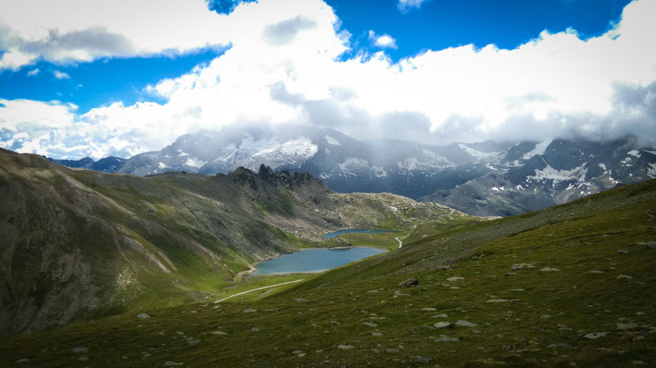 Beauty In Nature Gran Paradiso Landscape Mountain Mountain Range Nature No People Sky Travel Destinations