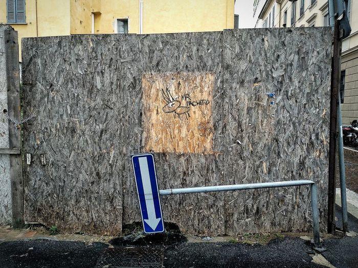 Via Zecca Vecchia, Milano, Ottobre 2018 Hdr_Collection Urban City Street Streetphotography Sign Built Structure