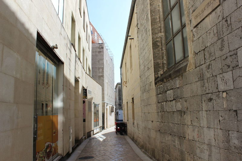 Alley Architecture Building Building Exterior Built Structure Day No People Outdoors Shadow Shadows & Lights Sky The Way Forward Warm