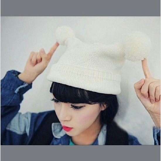 Sale หมวก หมวกไหมพรม 200บาทจ้า @line: itsy-bitsy