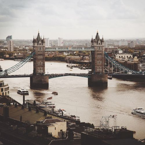 // A little washed out // Tower Bridge  London City Cityscape City Of London Architecture