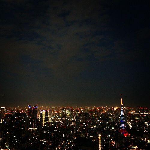 Tokyo Tower is lit SAMURAI BLUE in honor of Japan national football team competing in 2014 FIFA World Cup in Brazil!!! Tokyotower Samuraiblue Japannationalfootballteam Football soccer worldcup サムライブルー 東京タワー ワールドカップ サッカー サッカー日本代表 東京 六本木ヒルズ 六本木 Tokyo roppongi Japan