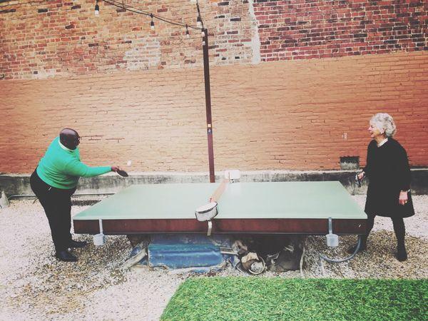 Ping Pong Pingpong Table Table Tennis Louisville Louisville, Kentucky Kentucky  Dreaming Green Battle