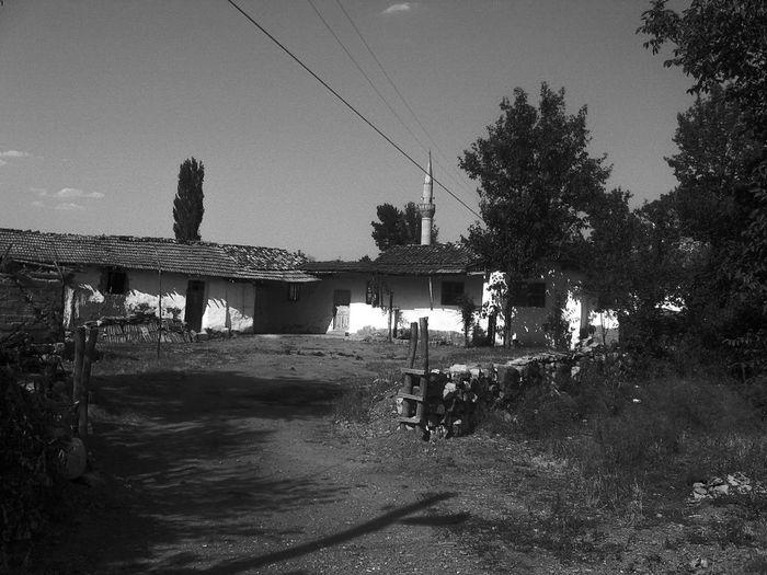 Black & White Monochrome Old House Amasya/Turkey