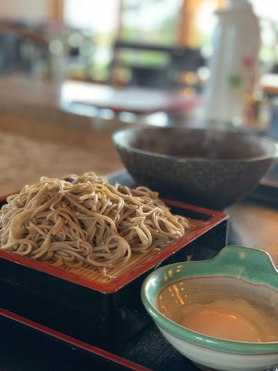 soba そば 蕎麦 Japanese Food Soba Food And Drink No People Still Life Bowl Focus On Foreground Asian Food