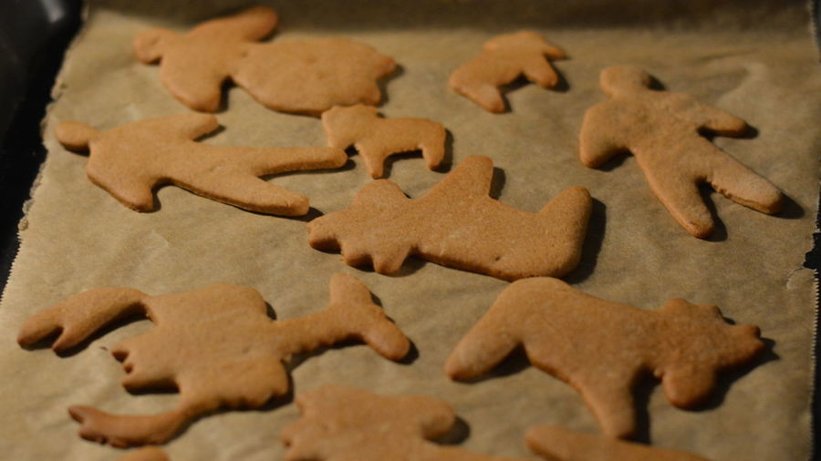 They come in all sizes and all shapes - and they are all just as great. Baking Brown Cookies Crawfish Crayfish Ginger Bread Ginger Bread Man  Ginger Moose Moose Still Life Different Difference, Distinction, Differential, Variation, Variance Different Shapes Diversity