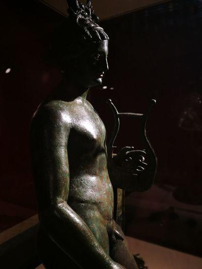 Apollo, Etruschi, Musro Civico Vetulonia, Toscana, Italia Archeological Museum Beautiful Eyes History Museo Bellezza Classica