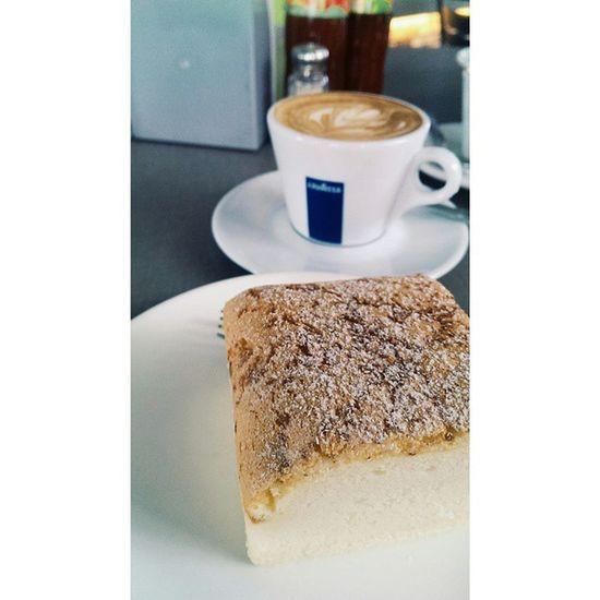 Caffeinated today. ? PadiHouse After BigBadWolf Coffee cake life