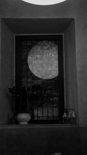 Window No People Indoors  Day Architecture Moon Llight Optical Illusions Mind
