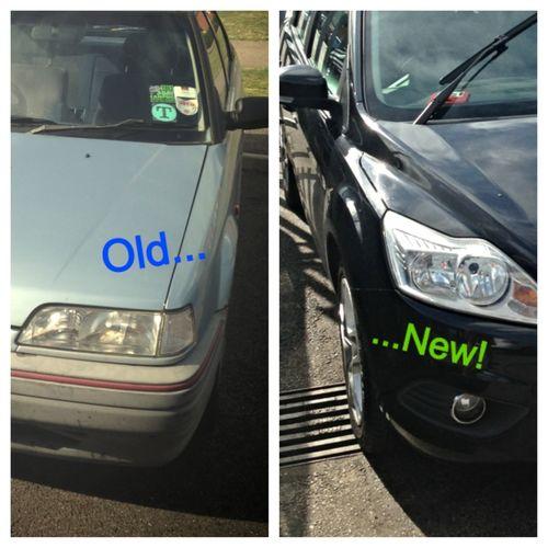 Woop Woop! New Car! Upgrade