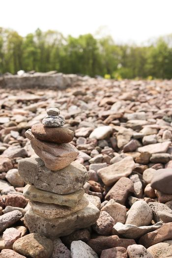 Balanced Stones Stein Balancing Rocks Stonetower Stack Solid Stone - Object No People Nature Focus On Foreground Stone