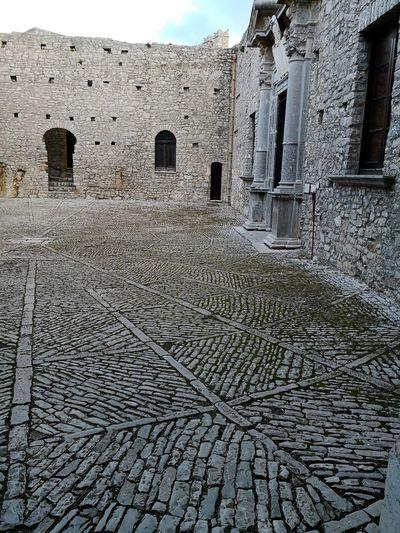 Caccamo castle courtyard Courtyard View Courtyard  Caccamo Castle Caccamo Sicily Castle