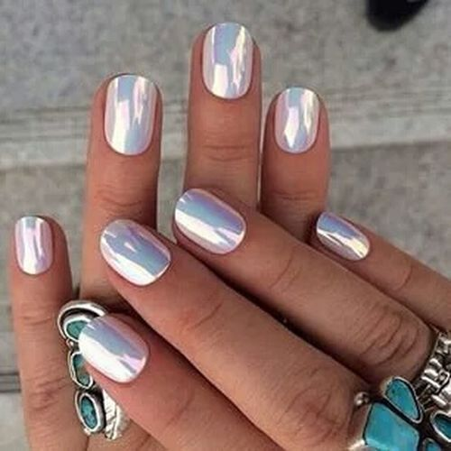 Que preciosoo color de uñas 😍😍 Nails Cool Pretty♡ Beautifil