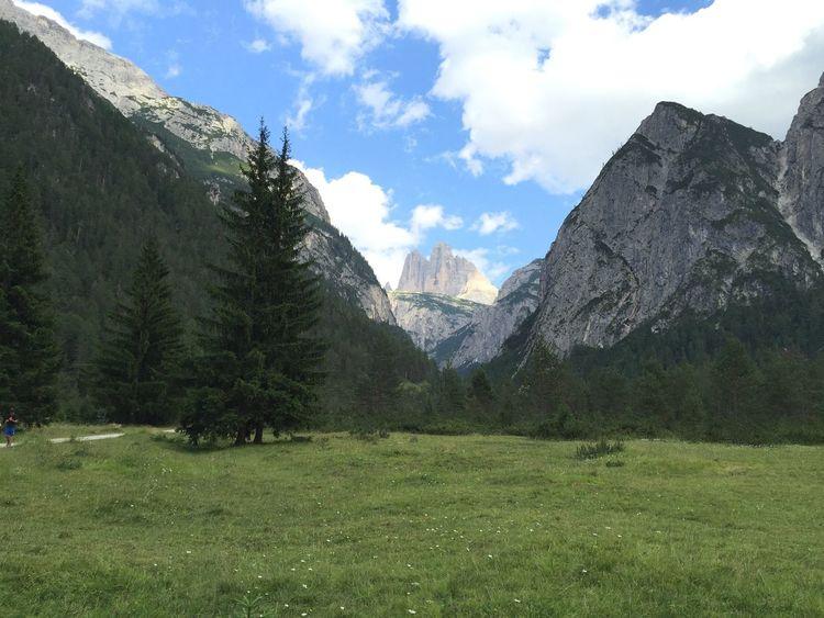 Drei Zinnen. Three Mountain Top in Süd Tirol