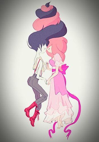 M ♥ PJ Adventure Time Marceline Bubbline
