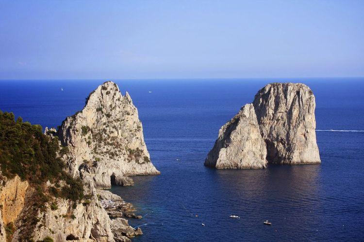 Rocks Rocks And Water Sea