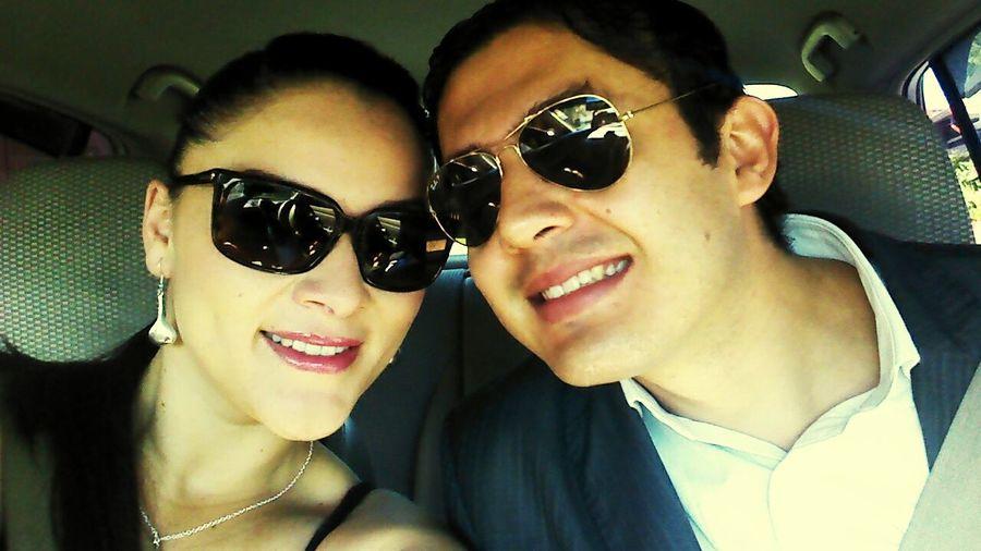 Listos para la boda de mi querido primo Gabriel Campos