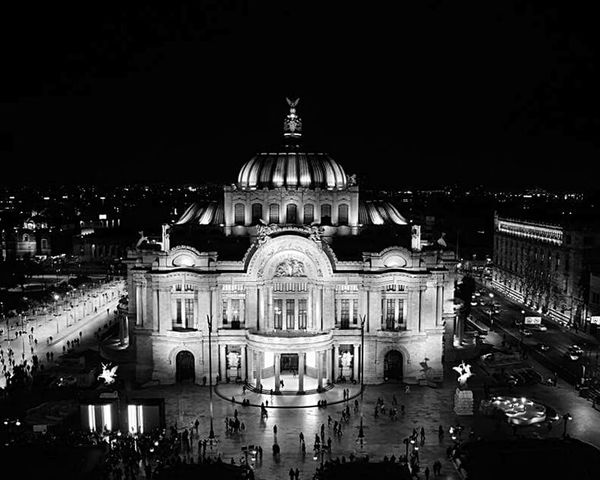 Architecture Government Dome Travel Destinations Building Exterior City Built Structure Night Illuminated Politics And Government History Sky No People Concert Hall  Outdoors Mexico City Mexico De Mis Amores Mexico_maravilloso
