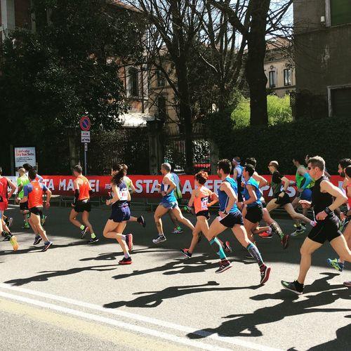 Here Belongs To Me Stramilano Running Half Marathon Springtime Milano Runners Italy