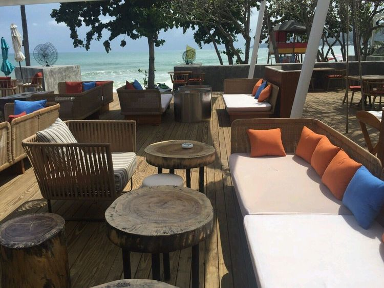 Koh Samui, Thailand Table Chair Outdoors Day Tree No People Food Restaurant Outdoor Restaurant Seating