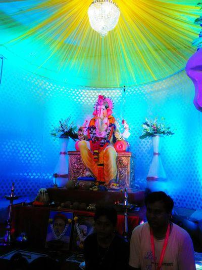 Lord ganesha Devine♥♥♥ Feeling Blessed Hindu Gods Hinduism Ganpati GanpatiBappaMorya Festival Mumbai_in_clicks Mumbai