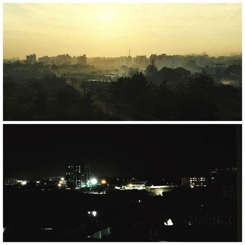 Sunrise vs Moonlight Betterveiws Lotsofconfusion Nature Photography Naturelovers Beautiful Views