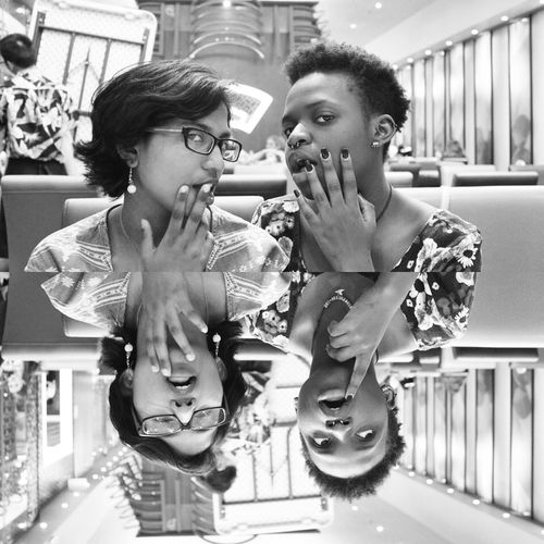 Black And White Friends Dinner Night Out Hanging Out Followme Follow Me I'll Follow Back The Portraitist - 2016 EyeEm Awards Welcome To Black
