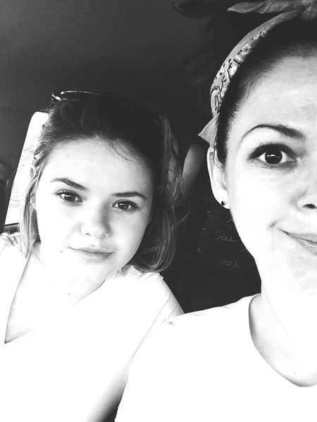 Blackandwhite Wecandoit Beautiful Mother And Daughter Love Your Kids 💋💜 So Cute Happyhappyhappy Enjoying Life Black & White Black&white