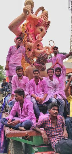 Ganesha immersion Religious Celebration