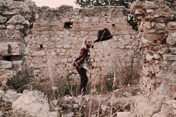 Long Goodbye sometimes you have to just let go and throw it all to the wind. Full Length One Man Only Outdoors Adult Hiking EyeEm Best Shots Bestoftheday Hiking Greece Plaid Fashion Style Letting Go Breathing Space A New Beginning