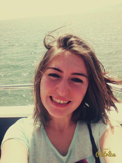 Vapurkeyfi Beautiful Selfie ✌ Selfportrait Happyday Selfie deniz olmadan yaşanır mı.. 😀😊☺😉