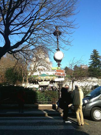 Time..meeting point Paris Taking Photos La Basilique Du Sacré Coeur De Montmarte winterwalkaaway jan2015
