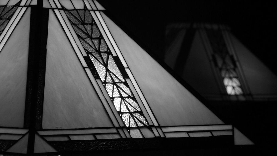 Black And White Photography Black And White Collection  Stained Glass Craftsman Reflection Glass Reflection Exploring Light And Shadow OpenEdit Monochrome EE_Daily: Black And White