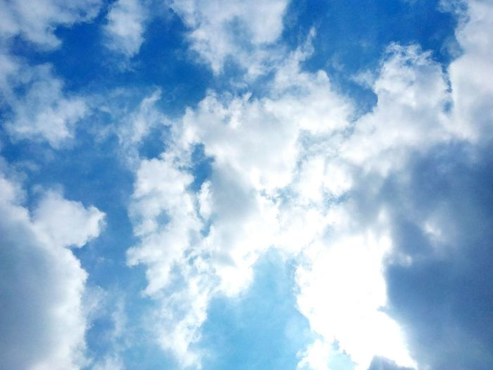 Sky Cloud - Sky Backgrounds Nature Low Angle View No People Heaven Full Frame Day Beauty In Nature Outdoors