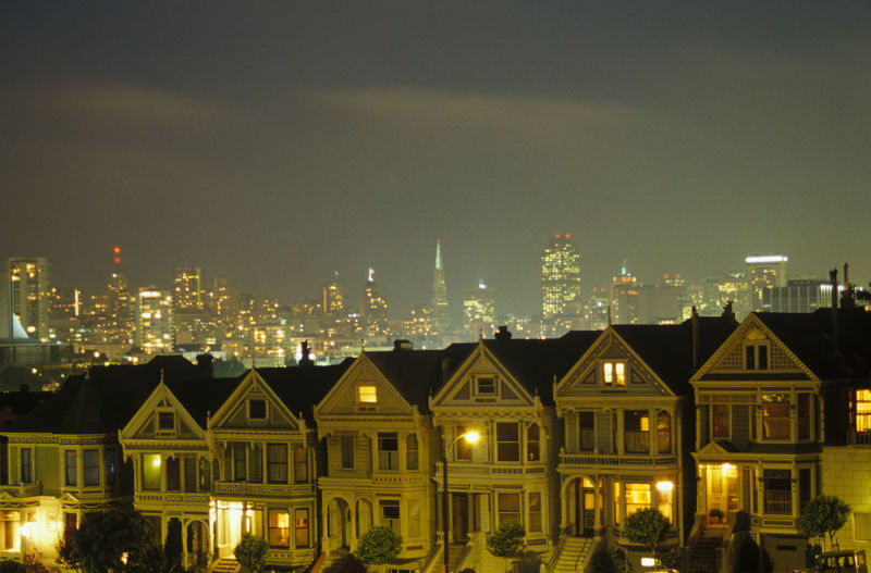 Painted Ladies, San Francisco, California Painted Ladies San Francisco Painted Ladies Houses House California Dreaming San Francisco San Francisco, California California Cali Travel Photography Tourist Attraction  Tourist Destination Color Downtown CityNight Photography Night Scenicphotography Cityscape Cityscapes Scenic Photograghy Scenic View Scenic Scenic Landscapes Travel Destinations