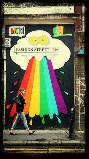 Fashion Street in London Walking Around Fashion Art