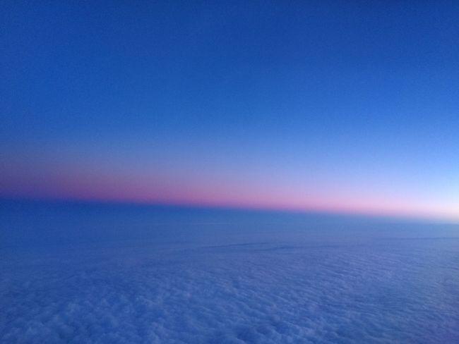 Window seat... Sky