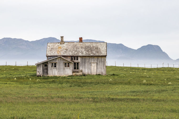 Abandoned house Andøya Green Norge Norway Rural Abandoned Abandoned Buildings Andenes Nord Norge Old House