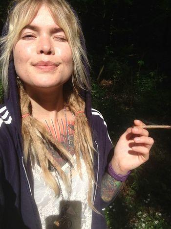 Sunny selfie Nature Self Portrait
